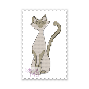 2348. - Zakładka z kotem (PDF)