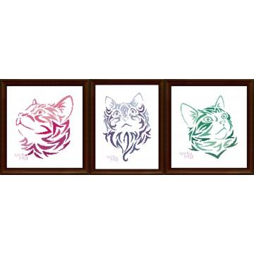 Zestaw: 3 koty (2+1)