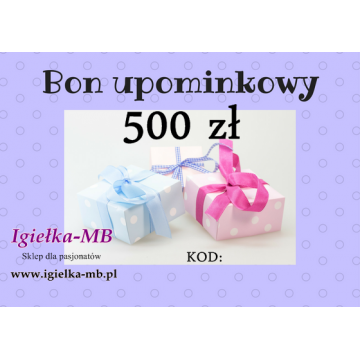 Bon upominkowy 500zł