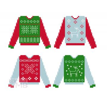 2089. - Świąteczne sweterki...