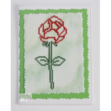 Kartka okolicznościowa: Róża