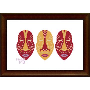 2364. - Afrykańskie maski...
