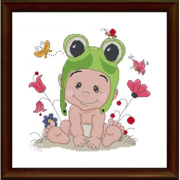 Obraz (1397): Urocza żabka