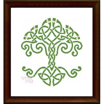 Obraz (2395): Celtyckie drzewo