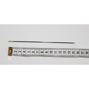 Igła szewska, niklowana, 15 cm